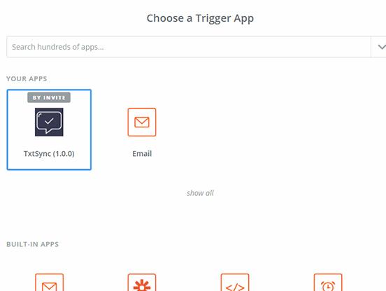 SelectTrigger - Zapier