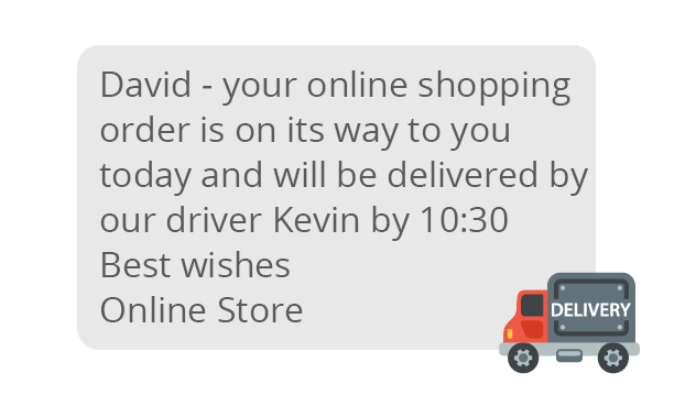 deliveryDriver - Logistics - Speed Up Deliveries Through SMS Alerts
