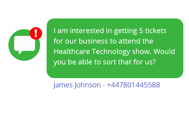 healthCare - Events - Reach your capacity with SMS marketing
