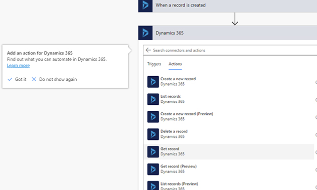 j step3 - Microsoft Flow
