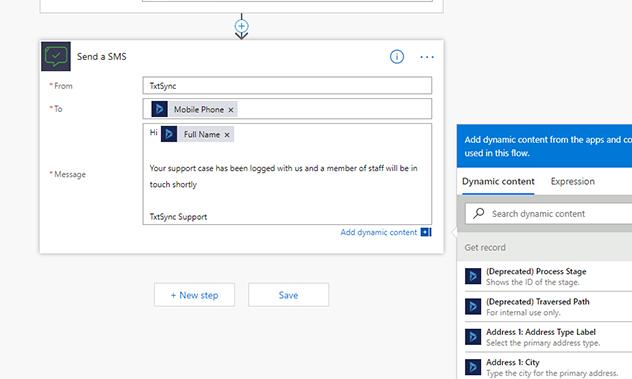 j step6 - Microsoft Flow