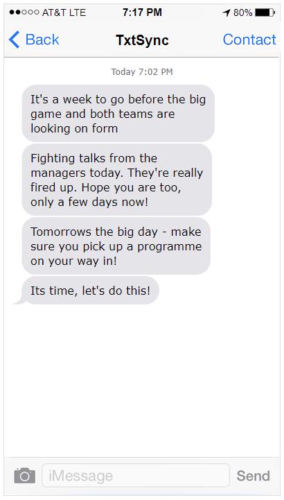 SMS Hype