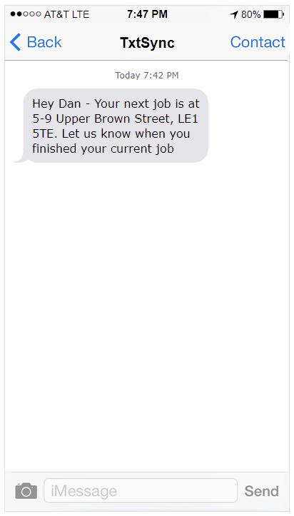 SMS Internal